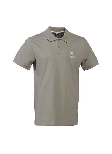 Hummel Hummel Erkek Koyu Gri Polo T-Shirt Gri
